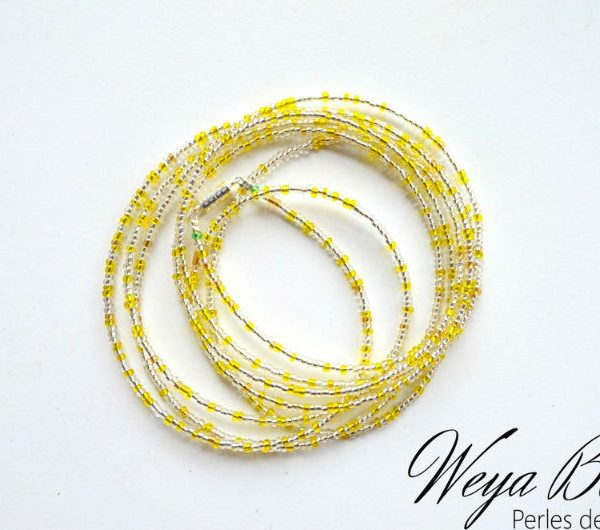 Baya Nkombé perle de taille ou de cheville