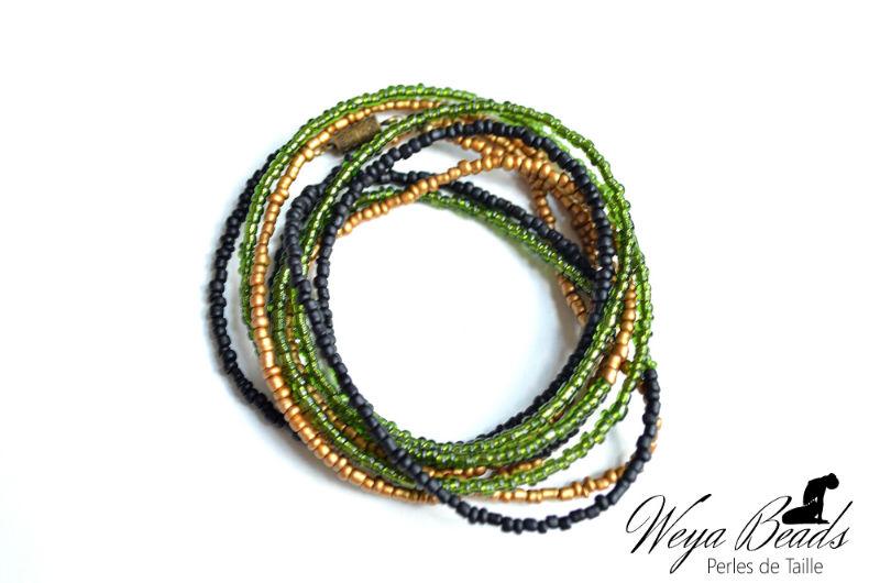 Ogasho - Gourmandise des sens perle de taille et cheville féminité sensuallité