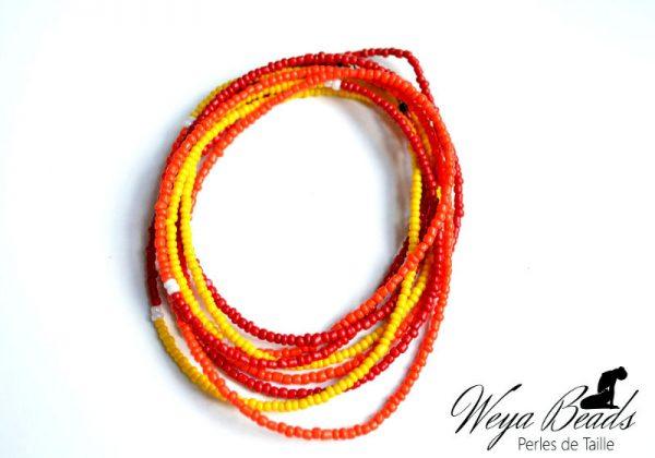 Baya Wonja - Libre Pétillance Jade perle de taille ou de cheville