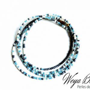 Baya Akuri - Perle Bleue perle de taille ou de cheville