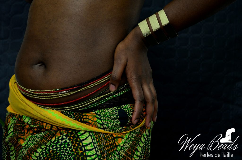 Weyabeads_Acheter bin bin africain - ziguida - bijoux de corps - perles de taille - bayas